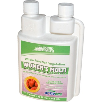 Liquid Health Products, Women\'s Multi, Multi-Vitamin with Calcium and Folic Acid, 32 fl oz (946 ml) - iHerb.com