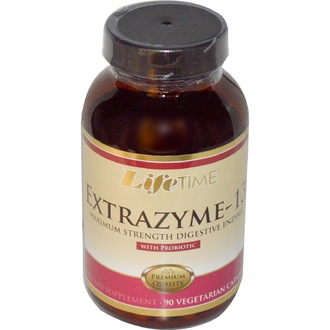 Life Time, Extrazyme-13, with Probiotic, 90 Veggie Caps - iHerb.com