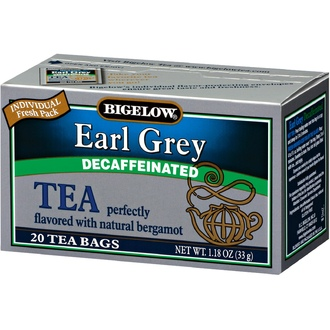 Bigelow, Earl Grey, Decaffeinated, 20 Tea Bags, 1.18 oz (33 g) - iHerb.com