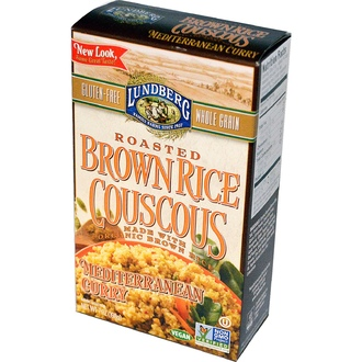 Lundberg, Roasted Brown Rice Couscous, Mediterranean Curry, 7 oz (198 g) - iHerb.com