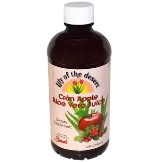 Lily of the Desert, Cran Apple Aloe Vera Juice, 32 fl oz (946 ml) - iHerb.com