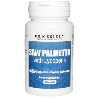 Dr. Mercola, Premium Supplements, Saw Palmetto with Lycopene, 30 Capsules - iHerb.com
