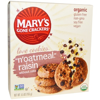 Mary\'s Gone Crackers, Organic, Love Cookies,\