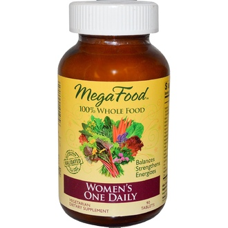 MegaFood, Women\'s One Daily, 90 Tablets - iHerb.com