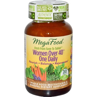 MegaFood, Women Over 40 One Daily, 30 Tablets - iHerb.com
