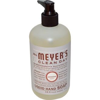 Mrs. Meyers Clean Day, Liquid Hand Soap, Lavender Scent, 12.5 fl oz (370 ml) - iHerb.com