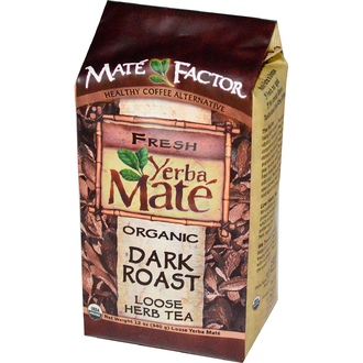 Mate Factor, Organic Yerba Mate, Dark Roast, Loose Herb Tea, 12 oz (340 g) - iHerb.com