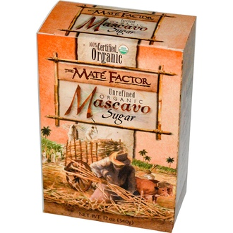 Mate Factor, Organic Mascavo Sugar, Unrefined, 12 oz (340 g) - iHerb.com