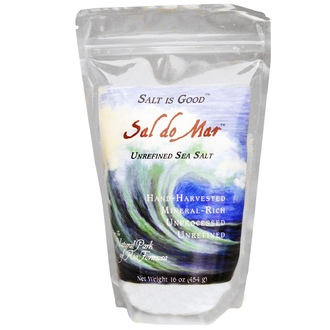 Mate Factor, Sal do Mar, Unrefined Sea Salt, 16 oz (454 g) - iHerb.com