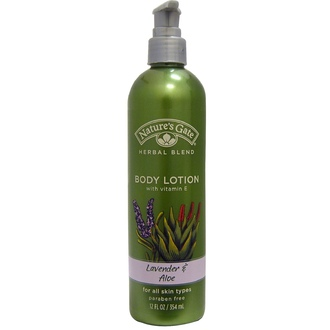 Nature\'s Gate, Herbal Blend Body Lotion, Lavender & Aloe, 12 fl oz (354 ml) - iHerb.com