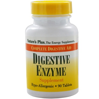 Nature\'s Plus, Digestive Enzyme Supplement, 90 Tablets - iHerb.com