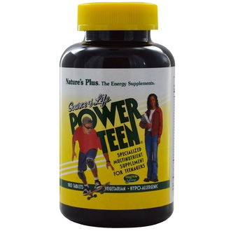 Nature\'s Plus, Source of Life, Power Teen, 180 Tablets - iHerb.com