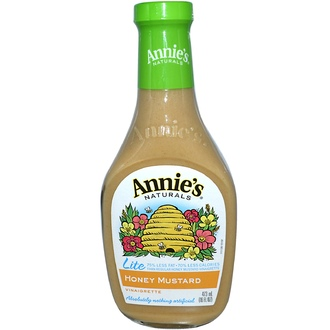 Annie\'s Naturals, Lite, Honey Mustard Vinaigrette, 16 fl oz (473 ml)  - iHerb.com