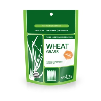 Navitas Naturals, Organic, Wheat Grass, Freeze-Dried Wheatgrass Powder, 1 oz (28 g) - iHerb.com
