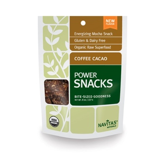 Navitas Naturals, Power Snacks, Coffee Cacao, 8 oz (227 g) - iHerb.com