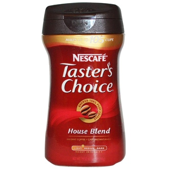 Nescafé, Taster\'s Choice, Instant Coffee, House Blend, 7 oz (198 g) - iHerb.com