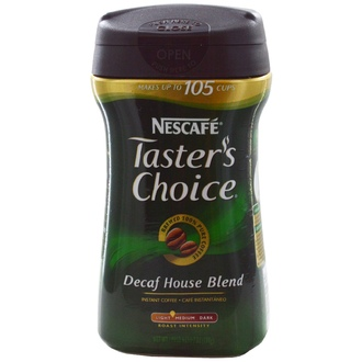 Nescafé, Taster\'s Choice Instant Coffee, Decaf House Blend, 7 oz (198 g) - iHerb.com