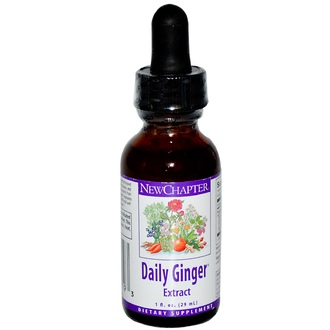 New Chapter, Daily Ginger Extract, 1 fl oz (29 ml) - iHerb.com