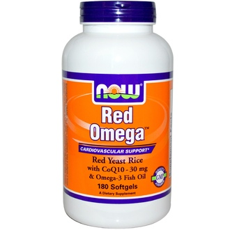 Now Foods, Red Omega, 180 гелевых капсул - iHerb.com