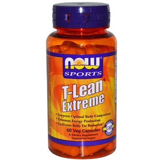 Now Foods, Sports, T-Lean Extreme, 60 Veggie Caps - iHerb.com