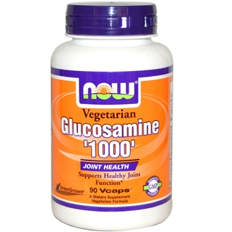 Now Foods, Glucosamine \'1000\', Vegetarian, 90 Vcaps - iHerb.com