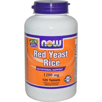 Now Foods, Red Yeast Rice, 1200 mg, 120 Tablets - iHerb.com