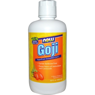 Now Foods, Goji, Super Fruit Antioxidant Juice, 32 fl oz (946 ml) - iHerb.com