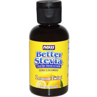 Now Foods, Better Stevia, Liquid Sweetener, Lemon Twist, 2 fl oz (60 ml) - iHerb.com