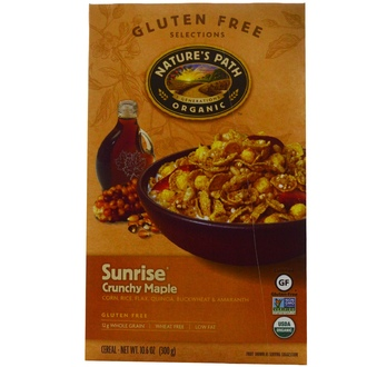 Nature\'s Path, Organic, Sunrise Crunchy Maple Cereal, Gluten Free, 10.6 oz (300 g) - iHerb.com