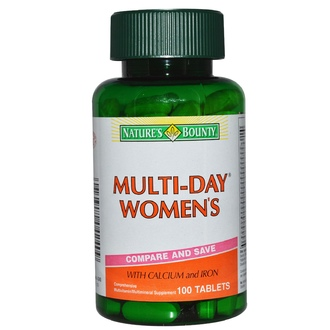 Nature\'s Bounty, Multi-Day Women\'s, 100 Tablets - iHerb.com
