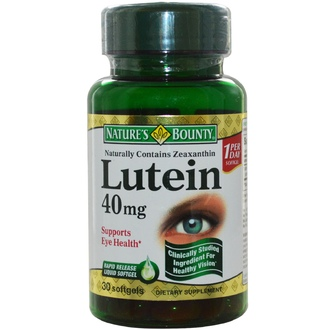 Nature\'s Bounty, Lutein, 40 mg, 30 Softgels - iHerb.com