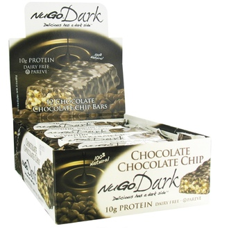 NuGo Nutrition, Dark, Chocolate Chip Bars, 12 Bars, 1.76 oz (50 g) Each - iHerb.com