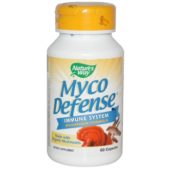 Nature\'s Way, Myco Defense, 60 Capsules - iHerb.com