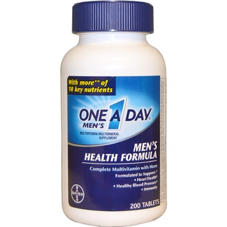 One-A-Day, One A Day Men\'s, Men\'s Health Formula, 200 Tablets - iHerb.com