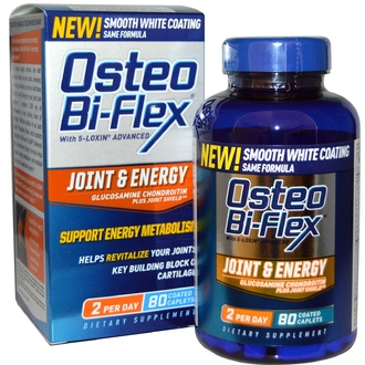 Osteo Bi-Flex, Joint & Energy, Glucosamine Chondroitin Plus Joint Shield, 80 Coated Caplets - iHerb.com