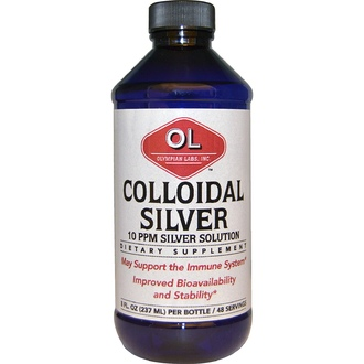 Olympian Labs Inc., Colloidal Silver, 8 fl oz (237 ml) - iHerb.com