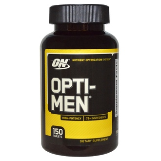 Optimum Nutrition, Opti-Men, 150 таблеток - iHerb.com