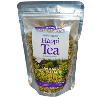 Oregon\'s Wild Harvest, Organic Happi Tea, 2.5 oz (70 g) - iHerb.com