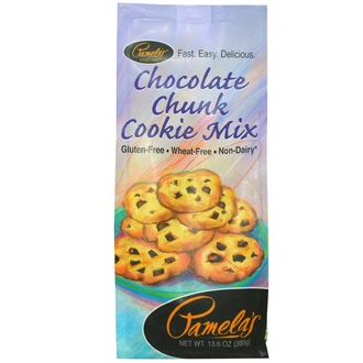 Pamela\'s Products, Chocolate Chunk Cookie Mix, 13.6 oz (386 g) - iHerb.com