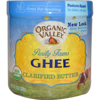 Organic Valley Purity Farms, Organic, Ghee, Clarified Butter, 13 oz (368 g) - iHerb.com