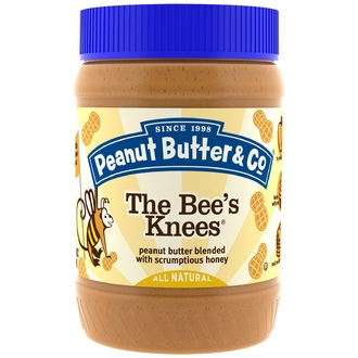 Peanut Butter & Co., The Bee\'s Knees, Арахисовое масло с мёдом, 16 унций (454 г) - iHerb.com
