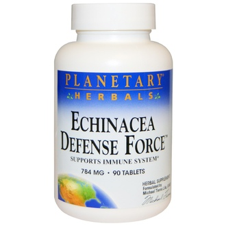 Planetary Herbals, Echinacea Defense Force, 784 mg, 90 Tablets - iHerb.com