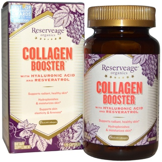 ReserveAge Nutrition, Collagen Booster, 120 капсул - iHerb.com