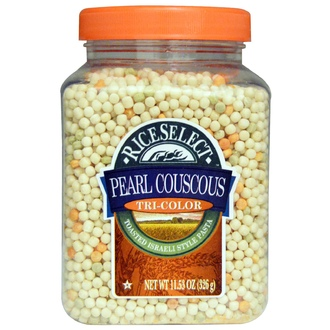 Rice Select, Pearl Couscous, Tri-Color, 11.53 oz (326 g) - iHerb.com