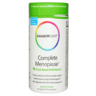 Rainbow Light, Complete Menopause, Food-Based Multivitamin, 60 Tablets - iHerb.com
