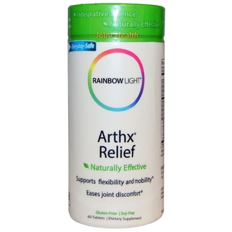 Rainbow Light, Arthx Relief, 60 Tablets - iHerb.com