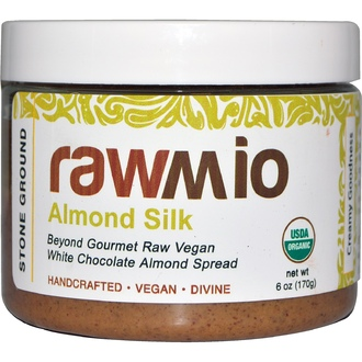 Rawmio, Almond Silk, White Chocolate Almond Spread, 6 oz (170 g) - iHerb.com