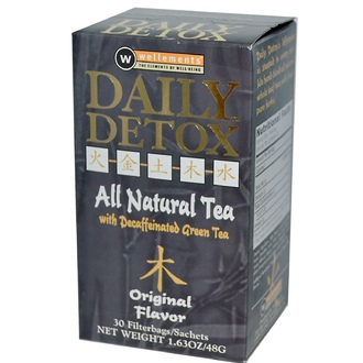 Rooney CV, Daily Detox, All Natural Tea with Decaffeinated Green Tea, Original Flavor, 30 Filterbags, 1.63 oz (48 g) - iHerb.com