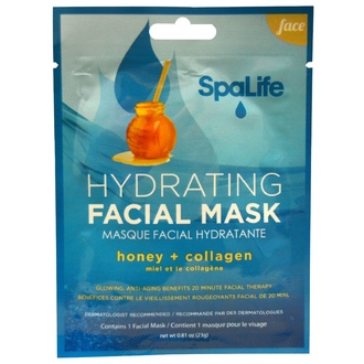My Spa Life, SpaLife, Hydrating Facial Mask, Face, 1 Facial Mask, 0.81 oz (23 g) - iHerb.com