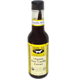 Singing Dog Vanilla, Organic Pure Vanilla Extract, Farm Grown , 5 fl oz (147 ml) - iHerb.com